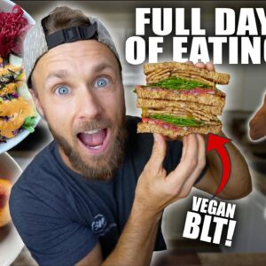 What I Eat In A Day | DELICIOUS VEGAN MEALS!