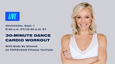30-Minute LIVE Dance Cardio Workout With Body By Simone