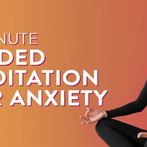 10 Minute Guided Meditation For Anxiety | Meditation For Stress | Sleep Meditation | Cult Fit