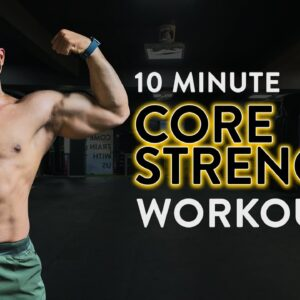 10 Minute Core Strength Workout | Core Workout | Home Workout | At Home Core Workout | Cult Fit