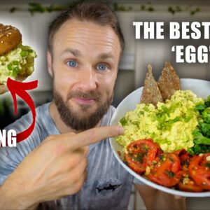 The Best Vegan 'Egg' Salad | Easy, Quick & High in Protein!