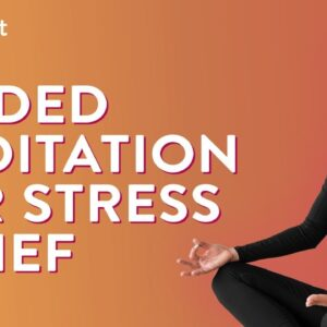 Guided Meditation For Stress Relief | Sleep Meditation | Meditation For Stress | Cult Fit