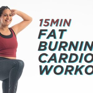 15min Fat Burning Cardio Workout | Fat Burn Workout At Home | Cardio Workout | Cult Fit
