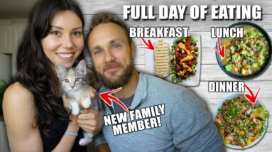 Healthy & Delicious Vegan Meals | FULL DAY OF EATING
