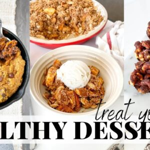 Healthy Desserts | easy to make, gluten free recipes